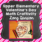 Valentine's Day Math Craft: Long Division
