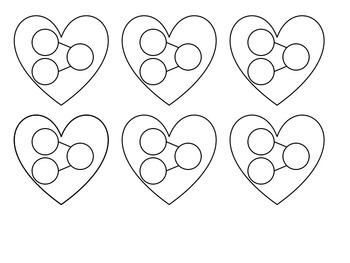 Valentine's Day Math Craftivity