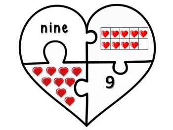 Valentine's Day Math Daily 3