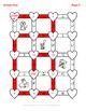 Valentine's Day Math: Decimals to Fractions Maze