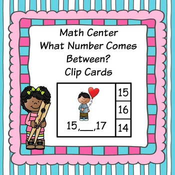 Valentine's Day Math Finding The Number That Comes Between 2 Given Numbers