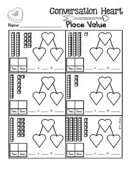 Valentine's Day Math First Grade