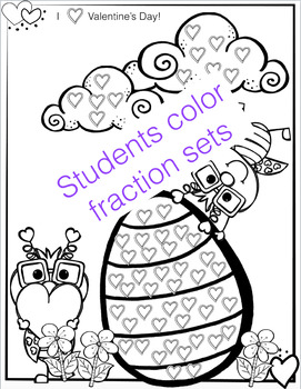 Valentine's Day Fraction Activities