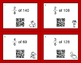 Valentine's Day Math: Fractions of a Set QR Code Task Cards