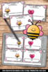 Fractions on a Number Line Task Cards Valentine's Day Math, Fraction Games