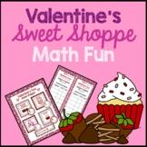 Valentine's Day Math Fun Activity {Money, Addition, Subtraction, Multiplication}