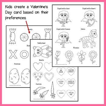Valentine's Day Math Goofy Glyph (Algebra)