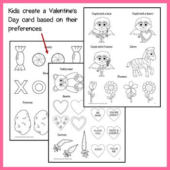 Valentine's Day Math Goofy Glyph (Kindergarten Common Core)
