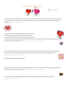 Valentine's Day Math Grade 5