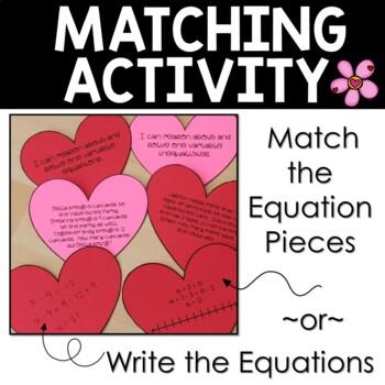Valentine's Day Math Hands-On Craftivity
