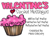 Valentine's Day Math Jokes: Addition, Subtraction, Multiplication Fact Practice