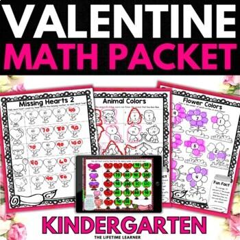 Valentine's Day Math Kindergarten