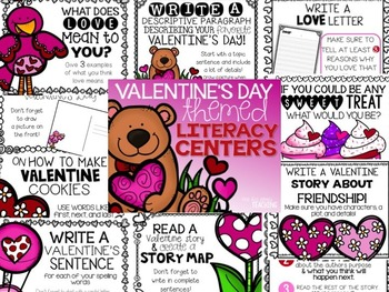 Valentine's Day Math & Literacy BUNDLE!