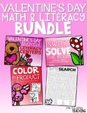 Valentine's Day Math & Literacy BUNDLE!