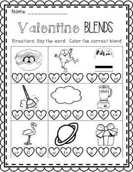 Valentine's Day Math & Literacy BUNDLE