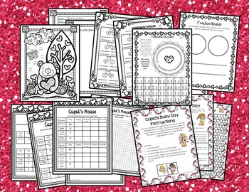 Valentine's Day Math & Literacy BUNDLE for 3rd Grade