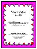 Valentine's Day Math & Literacy Bundle
