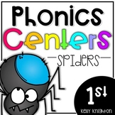 Phonics Centers First Grade - Spiders
