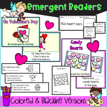 Valentine's Day Math & Literacy - Centers, Easy Readers, Simple Addition & More