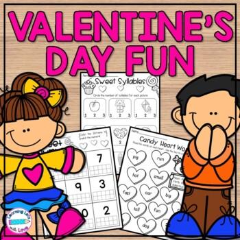 Valentine's Day! *Math & Literacy Fun*
