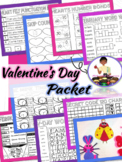 Valentine's Day Activities Valentines Day Reading Comprehension Passages