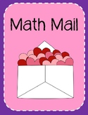 Valentine's Day Math Mail