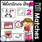 Valentine's Day Math Centers: Numbers 1-20