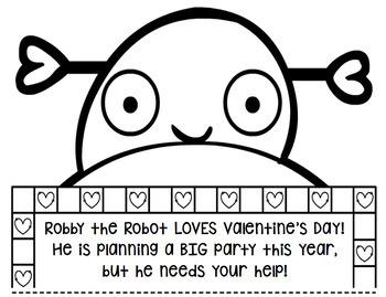 Valentine's Day Math: Multi-Step Word Problem Craftivity for Grades 2-5