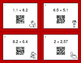 Valentine's Day Math: Multiplying Decimals QR Code Task Cards