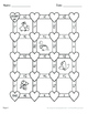 Valentine's Day Math: Multiplying Mixed Fractions Maze