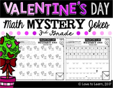Valentine's Day Math Mystery Jokes **3rd Grade**