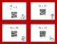 Valentine's Day Math: One Step Equations (Multiplication & Division) QR Cards