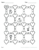Valentine's Day Math: Order of Operations Maze