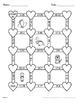 Valentine's Day Math: Percents Maze