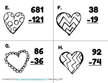 Valentine's Day Math - Perfect Match