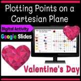 Valentine's Day Math! Plotting Points on a Coordinate Plane Digital Workbook