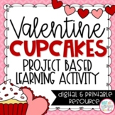 Valentine's Day Math Project-Based Learning Printable and Digital Activity