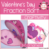 Valentine's Day Comparing Fractions Activity