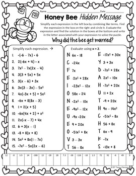 Valentine's Day Math Puzzles Mini Bundle