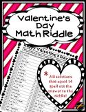 Valentine's Day Math Riddle