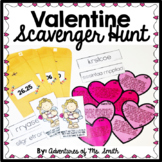 Valentine's Day Math Scavenger Hunt