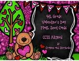Valentine's Day Math Scoot
