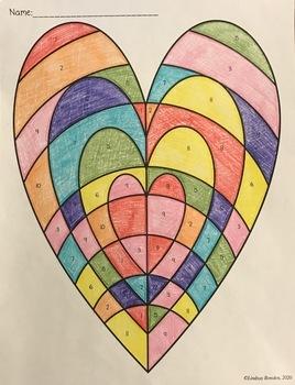 Valentine's Day Math: Similar Triangles