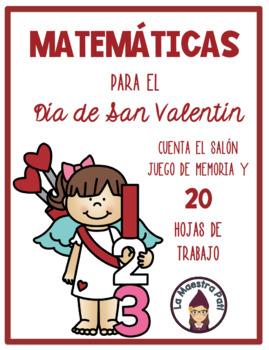 Valentine's Day Math-Spanish