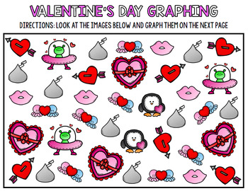 Valentine's Day Math - Special Education - Life Skills - Print & Go Worksheets