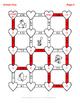 Valentine's Day Math: Subtracting Decimals Maze