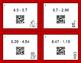 Valentine's Day Math: Subtracting Decimals QR Code Task Cards