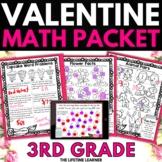 Valentine's Day Math - 3rd Grade Math Activities
