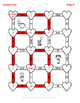 Valentine's Day Math: Time Conversion Maze