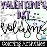 Valentine's Day Volume Coloring Activities